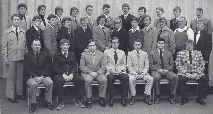 50TH Basic Academy Graduates; December 16, 1977