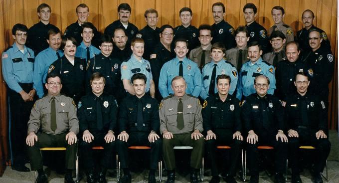 100TH Basic Academy Graduates; December 19, 1986